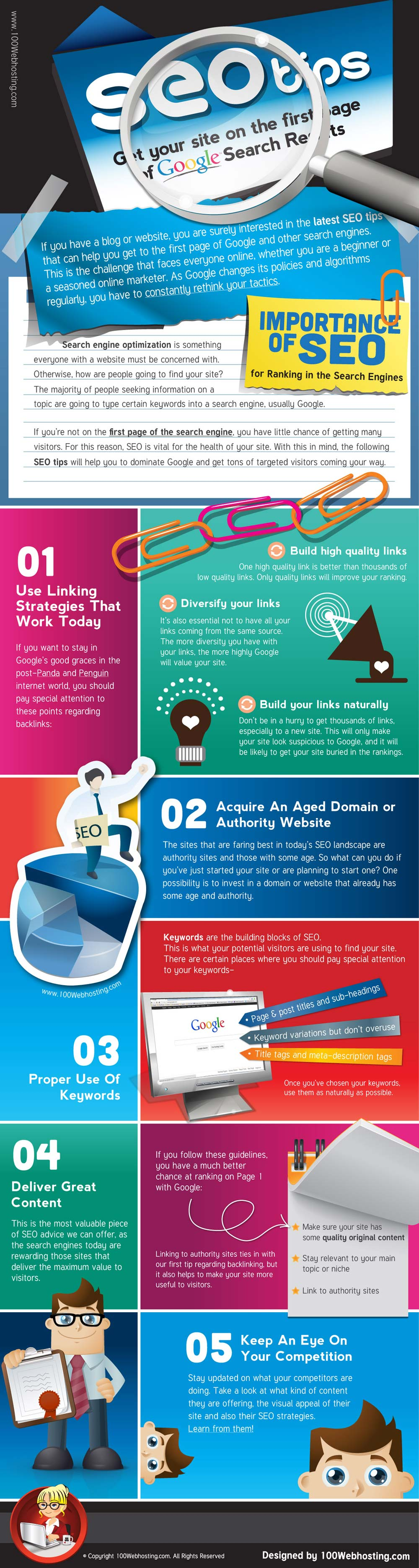 What Is SEO And What Are Good SEO Tips - Infographic