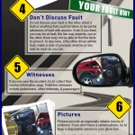 What To Do If You Get In A Car Accident - Infographic