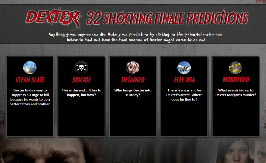 Dexter 32 Shocking Finale Predictions - Infographic