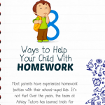 Homework Tips for Parents Infographic