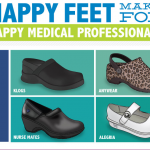 Healthcare Shoes Infographic