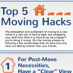Moving Hacks Infographic