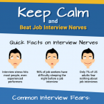 Job Interview Nerves Infographic