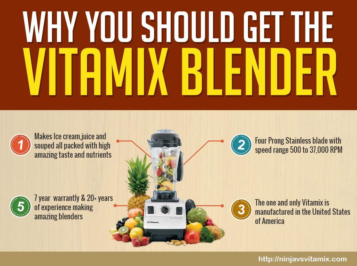 Vitamix Infographic