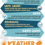 Indonesia travel infographic
