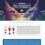 Foosball benefits infographic