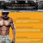 muscle building tips infographic