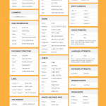 Ultimate 2016 HTML Guide infographid