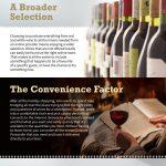 online liquor infographic