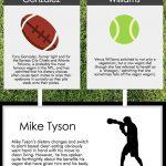 Vegetarian Athletes infographic