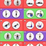 dumbbell workout infographic