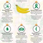 banana health benefits infographic