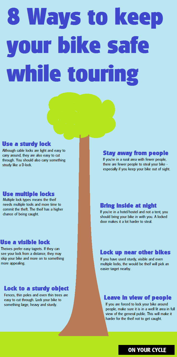 bike safety infographic
