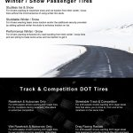 types of tires infographic