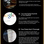 Website traffic infographic