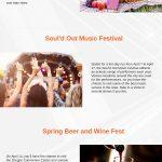Portland festivals infographic