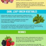 Pregnancy foods infographic