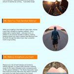 walking benefits infographic