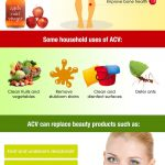 apple cider vinegar infographic