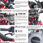 enduro bike parts infographic