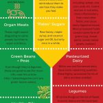 food list for Paleo diet infographic