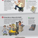forklift safety and accidents infographic