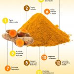 tumeric and curcumin infographic