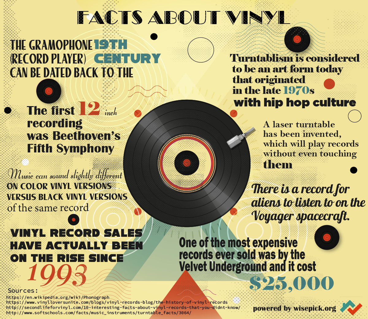 Facts About Vinyl | Infographic Post