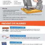 eye injuries at work